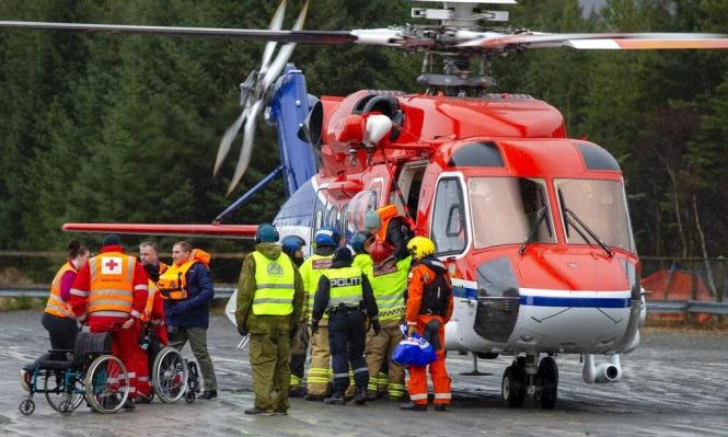 إنقاذ المئات من سفينة سياحية تعطلت قبالة سواحل النرويج