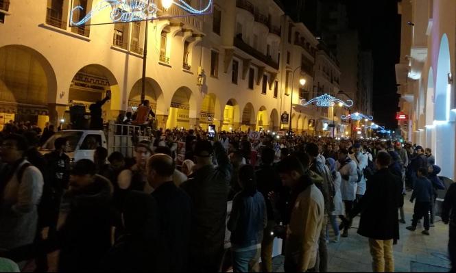 الشرطة المغربيّة تفرّق اعتصاما للمعلمين بخراطيم المياه
