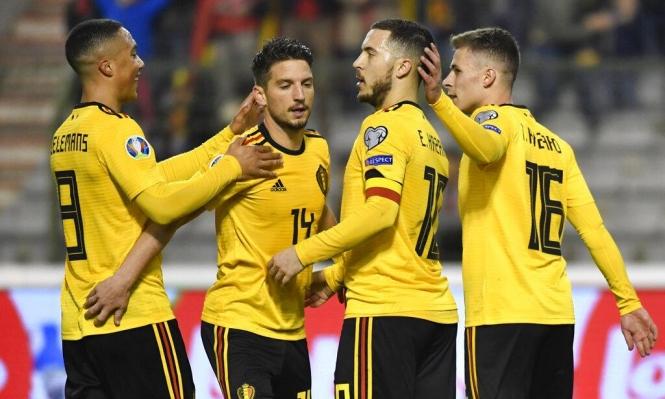 هازارد يحقق رقما قياسيا مع منتخب بلجيكا
