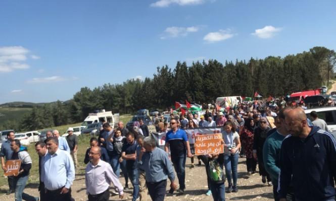 الجمعة: مسيرة الروحة إحياء لذكرى يوم الأرض