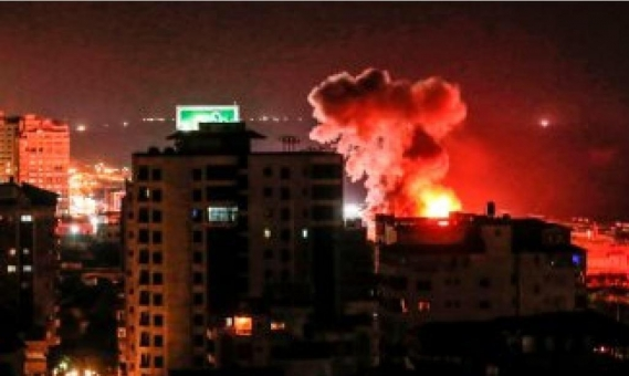 7 قتلى على الأقل بالعدوان الإسرائيلي على حلب
