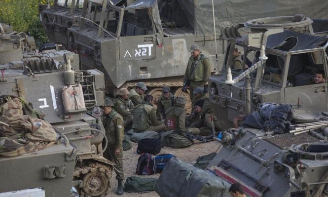 الجيش الإسرائيلي يستكمل استعداداته في محيط قطاع غزة