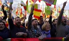 برشلونة: مواجهات بين حزب متطرف ودعاة الاستقلال