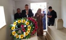 سخنين: بدء فعاليات يوم الأرض بزيارة عائلات الشهداء