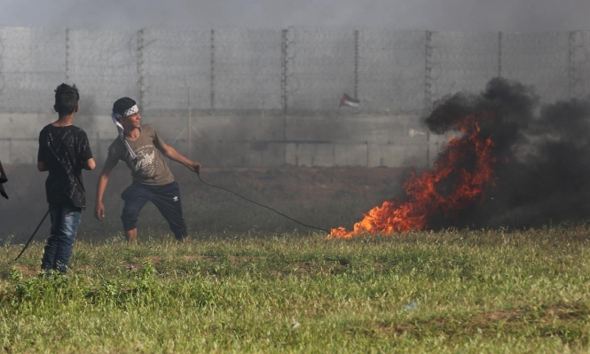 غزة: استشهاد شاب بنيران الاحتلال