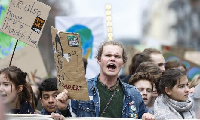 عمل نضالي يقوده الجيل الشابّ... يُدافعون عن المناخ ويُحاربون السّلاح