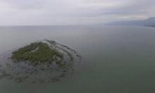 جزيرة طبرية تختفي