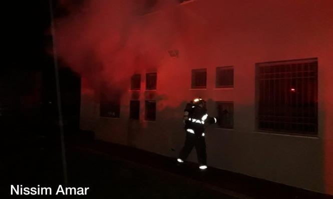 عرعرة النقب: إضرام النار في قسم الرفاه الاجتماعي
