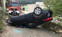 أم الفحم: 3 إصابات إثر انقلاب سيارة