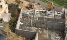 الاحتلال ينفذ جرائم هدم في مخيم شعفاط وبيت جالا