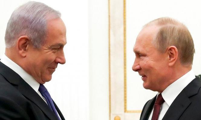 نتنياهو يلتقي بوتين في موسكو الخميس