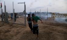 إصابة 3 فلسطينيين برصاص الاحتلال بزعم محاولة التسلل من غزة