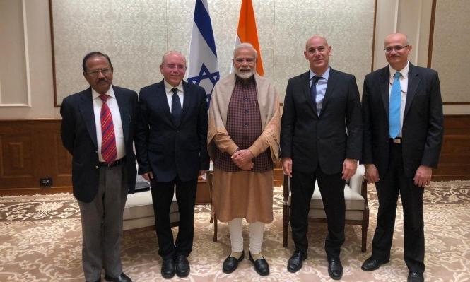 وفد إسرائيلي يفقد وثائق سرية لصفقات أسلحة مع الهند