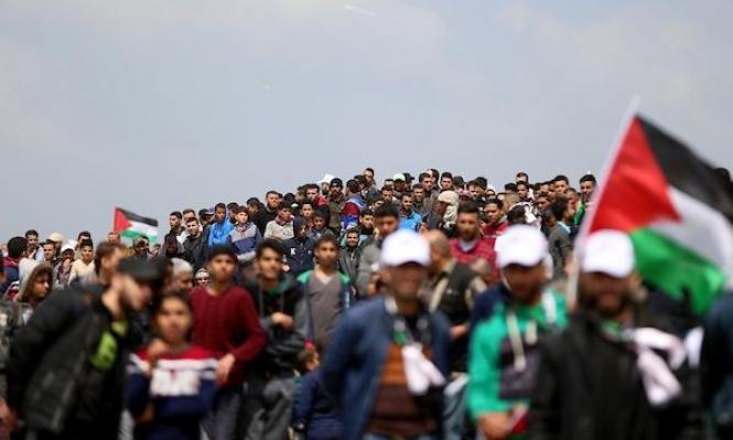 غزة: إصابات بينها حرجة في قمع الاحتلال لمسيرة العودة