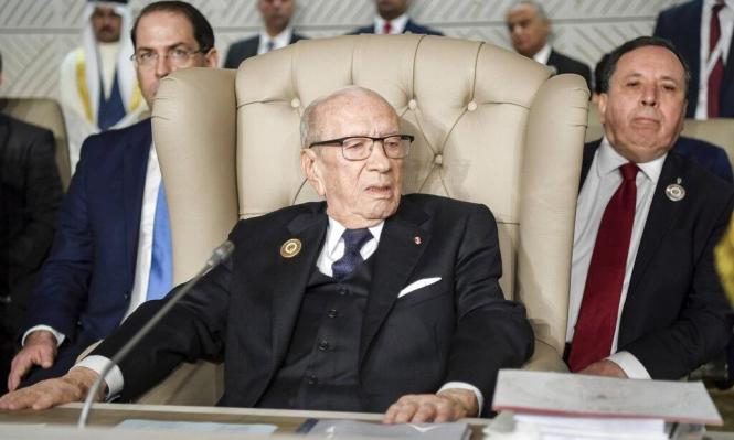 السبسي يعلن عدم الترشح للانتخابات الرئاسية التونسية