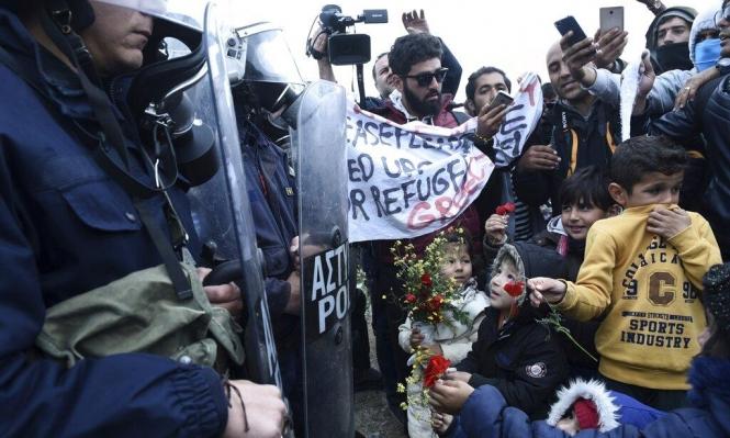 اليونان: اللاجئون يغادرون الحدود الشمالية بعد اعتصام لـ3 أيام