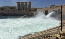 زيادة تصريف مياه سد الموصل بالعراق إثر ارتفاع منسوبها