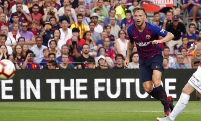 إنتر ميلان يدخل المنافسة على ضم نجم برشلونة