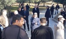 الوزير أرئيل يتقدم اقتحامات عشرات المستوطنين للأقصى