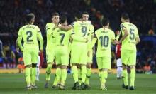 برشلونة يهزم مانشستر يونايتد بعقر داره