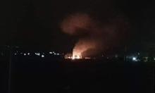"""""""غارات إسرائيلية على موقع عسكري قرب حماة"""""""