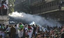 اشتباك الشرطة مع الجزائريين