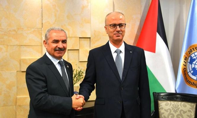 حكومة اشتية تعيد أداء اليمين أمام عباس