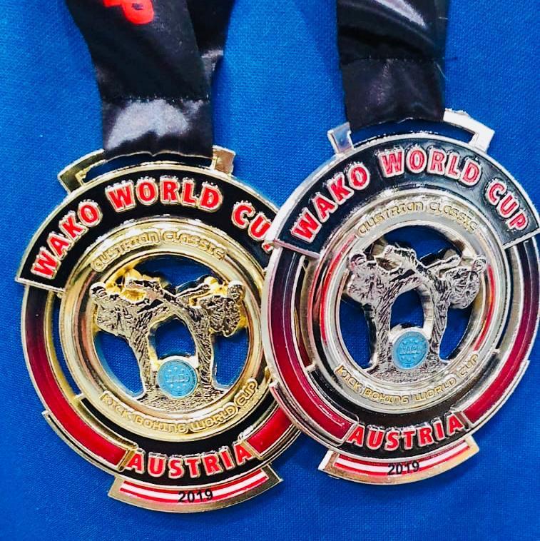 أمير أسعد يحقق إنجازا في بطولة عالمية للكيك بوكس
