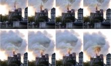 إخماد حريق كاتدرائية نوتردام وماكرون يتعهد بإعادة بنائها