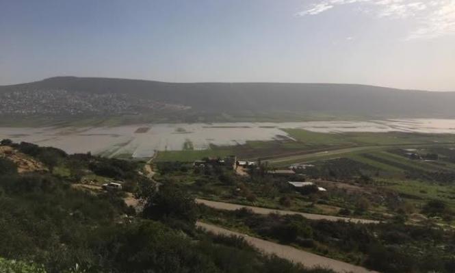 وزارة الزراعة ترفض الإعلان عن سهل البطوف منطقة كارثة طبيعية