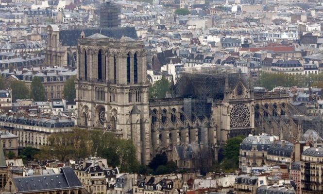 """كاتدرائية نوتردام: """"الأسوأ تمّ تجنّبه"""""""