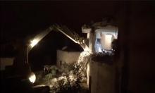 الاحتلال يهدم منزل الشهيد صالح البرغوثي في  كوبر