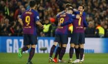 """دوري الأبطال: برشلونة يجرد """"الشياطين الحمر"""" ويبلغ نصف النهائي"""