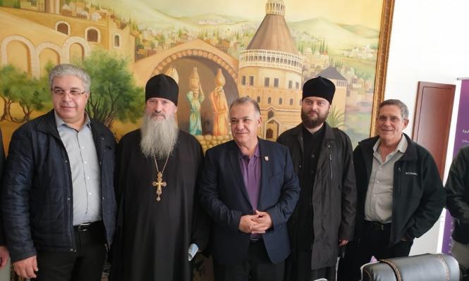 """الكنيسة الروسية تعرض على بلدية الناصرة بناء فندق مكان """"بيت الصداقة"""""""