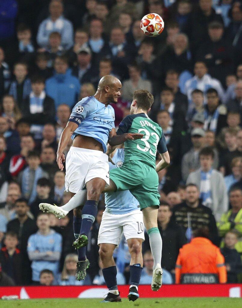 في مباراة مجنونة: توتنهام يطيح بمان سيتي خارج دوري الأبطال