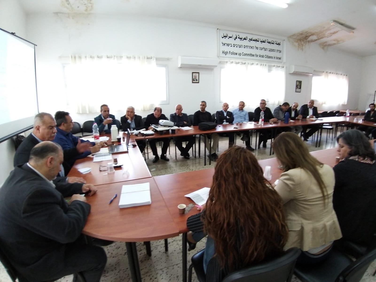 """إطلاق """"مشروع إستراتيجي"""" لمكافحة العنف بالمجتمع العربي"""