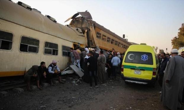 حوادث مصر: إصابة 9 في خروج قطار عن مساره