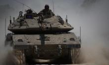 مدفعية الاحتلال تستهدف موقعًا في غزة