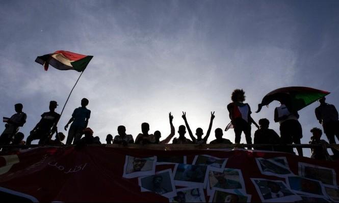 من تظاهرات السودان (أ ب)