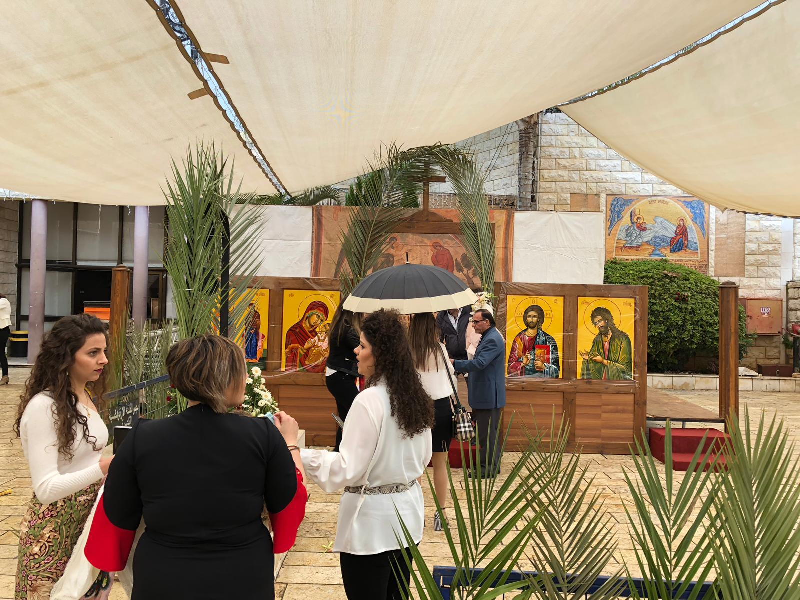 الناصرة وشفاعمرو تحتفلان بأحد الشعانين