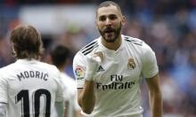 هاتريك بنزيمة يقود ريال مدريد لتخطي بيلباو