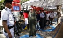 """مصر: مشاهد الرقص و""""كراتين"""" الطعام تُميز الاستفتاء"""
