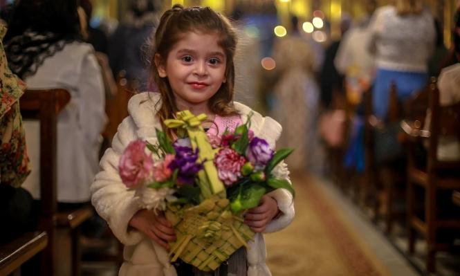 من أجواء عيد الفصح في كنيسة المهد