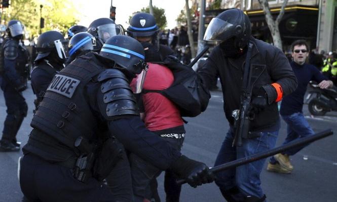 """مُتظاهرو فرنسا لرجال الشرطة: """"اقتلوا أنفسكم""""!"""