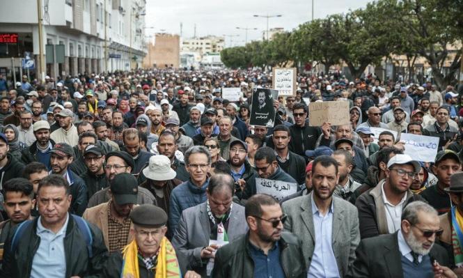 """المغرب: الآلاف يُطالبون بالإفراج عن معتقلي """"حراك الريف"""""""