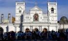 سريلانكا: انفجار قرب كنيسة والحكومة تتهم