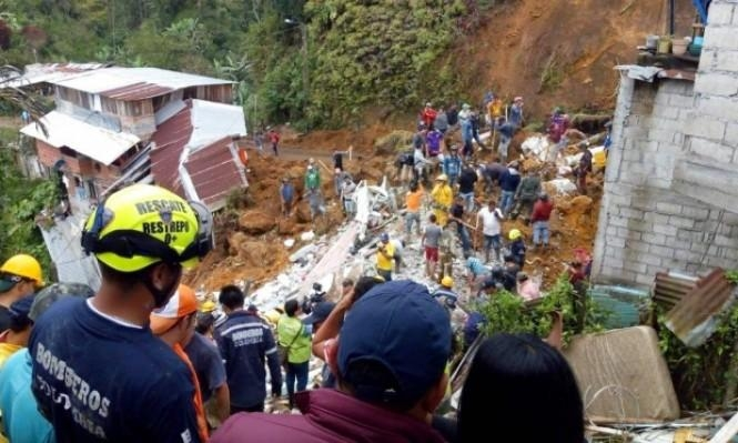 كولومبيا: مصرع 28 شخصا في انزلاق تربة