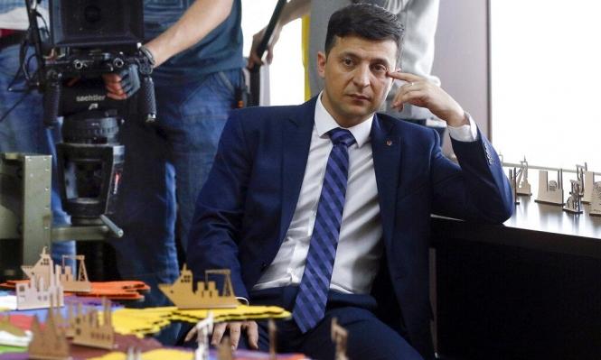 فوز زيلنسكي: آمال إسرائيلية بعلاقات وثيقة مع أوكرانيا