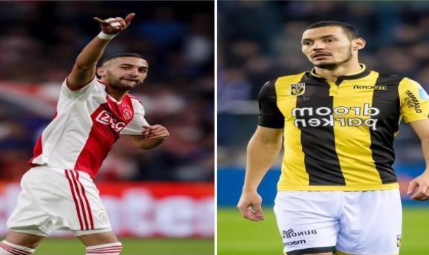 زياش ودرفلو يتألقان في الدوري الهولندي