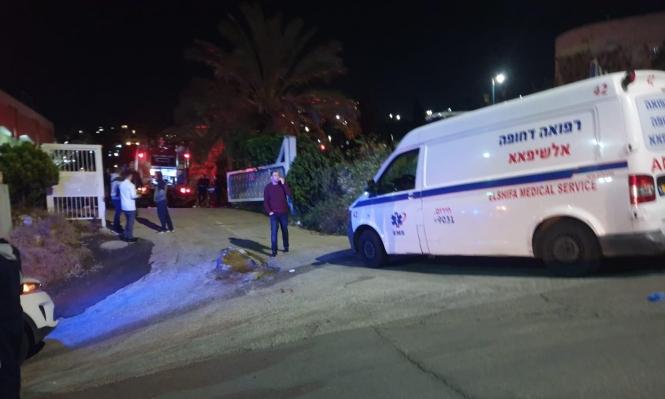 وفاة المصاب بحريق مستشفى الجليل للمسنين بالرينة